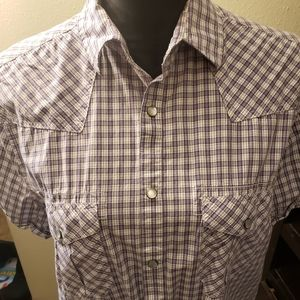 Kenneth cole reaction size L mens casual shirt